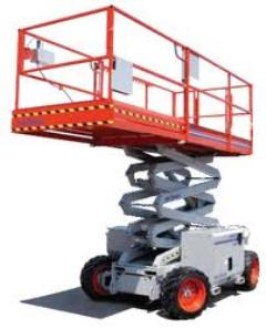 Rental store for 26FT SCISSOR LIFT - ROUGH TERRAIN in Guntersville AL
