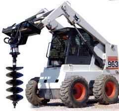 Rental store for SKID-STEER POST-HOLE AUGER ATTACHMENT in Guntersville AL