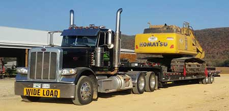Equipment Hauling Services in Guntersville Alabama, Grant AL, Scottsboro, Albertville, Marshall County & Jackson County